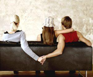 People Holding Hands on Sofa   Original Filename: 3929-000026.jpg